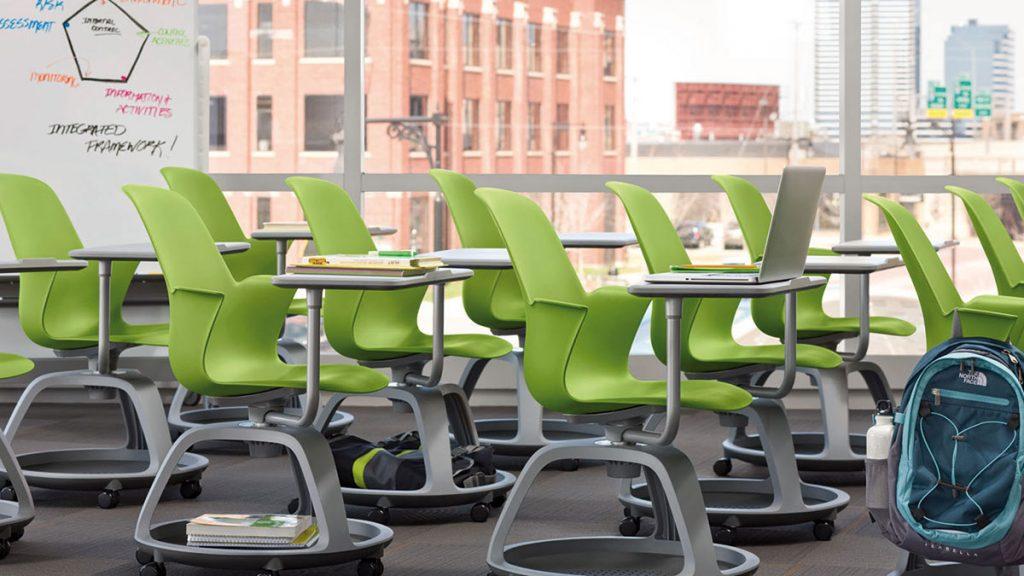 BMV Steelcase Node Stuhl für Unterrichtsräume