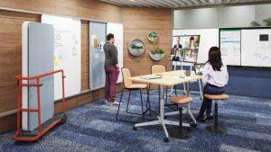 Hybrid arbeiten, BMV Steelcase gestaltet Ihr Büro